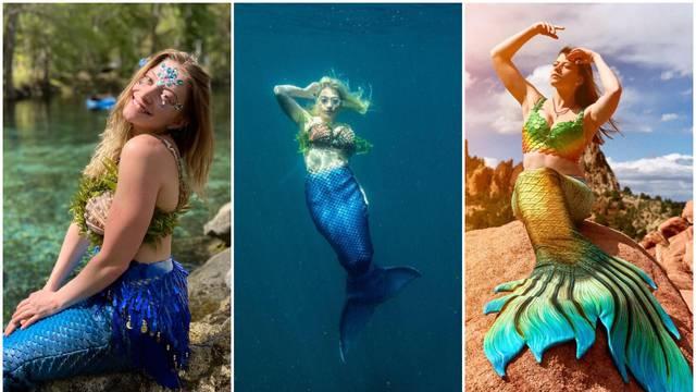 Zaljubila se u sirenu Arielu kao curica. Sada je i sama 'sirena'