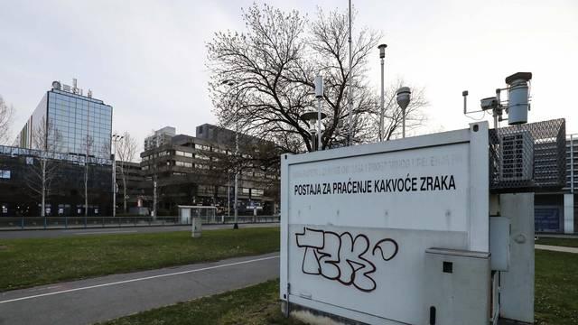 Zrak u Zagrebu je danas najzagađeniji na svijetu