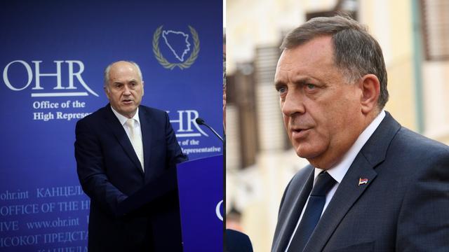 Inzko prijeti novim sankcijama Miloradu Dodiku, neće moći u EU: 'On veliča ratnog zločinca'