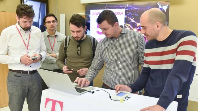 Samobor: Hrvatski Telekom domonstrirao brzinu 5G mreže