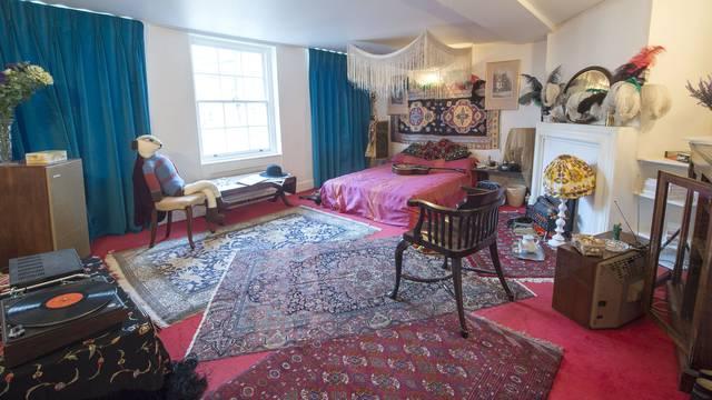 Hendrix je živio u ludom skladu svih boja i motiva u Londonu