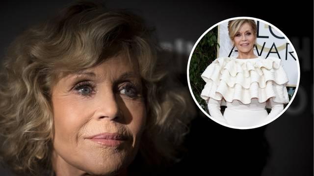 Jane Fonda: 'Volani na haljini skrivali su zavoje od operacije'