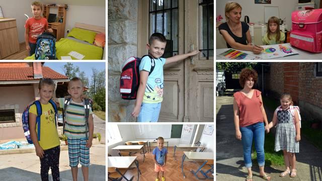 Prvašići jedva čekaju da počne škola, ali: 'Sami smo u razredu'