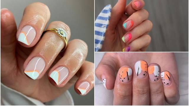 Proljeće na noktima: Ideje za manikuru na kratkim noktima