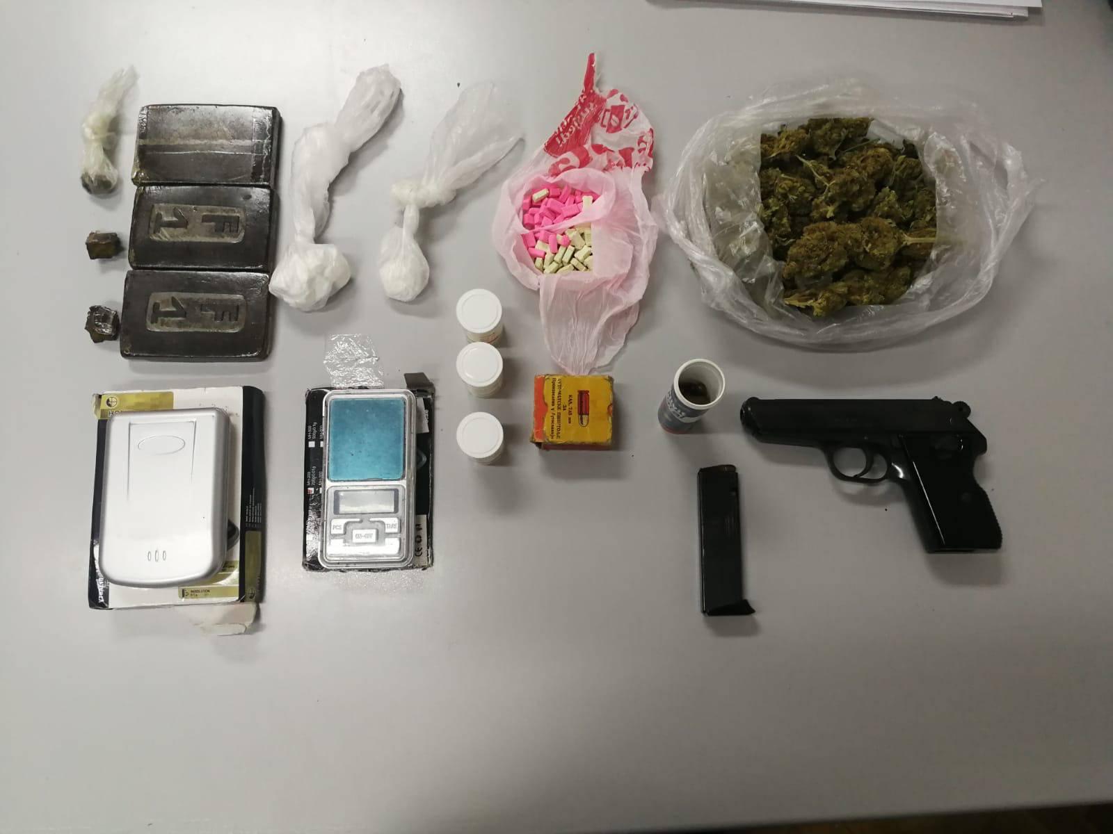 Našli hašiš, kokain, marihuanu