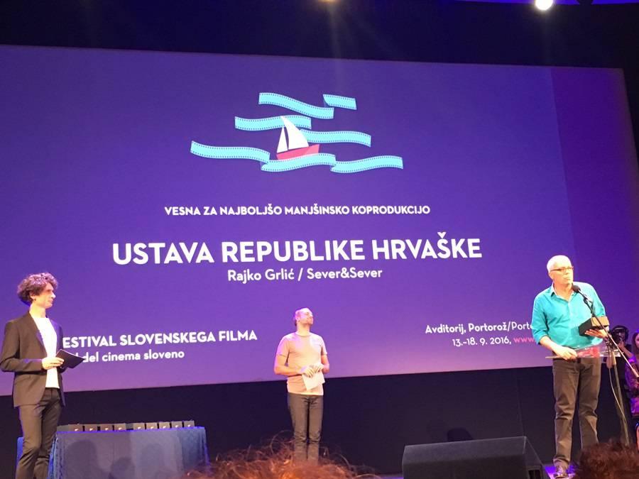 Za 'Ustav Republike Hrvatske' i dalje dolaze brojne nagrade