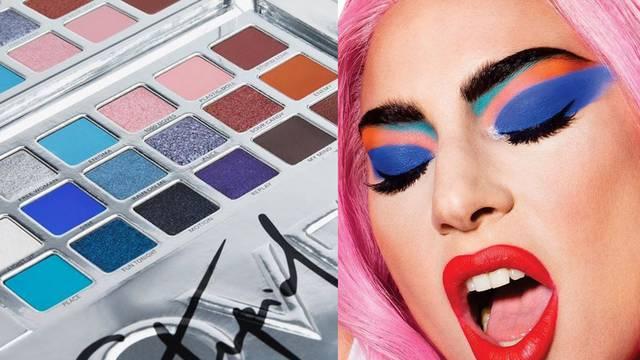 Lady Gaga ima novu paletu sjenila vrlo snažnih pigmenata
