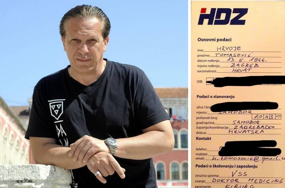 Tomasović lani ušao u HDZ, a sad već želi biti potpredsjednik