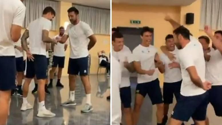 VIDEO Ima li tko jači? Majstor Buffon izdominirao hajdukovca i društvo u 'papir-škare-kamen'