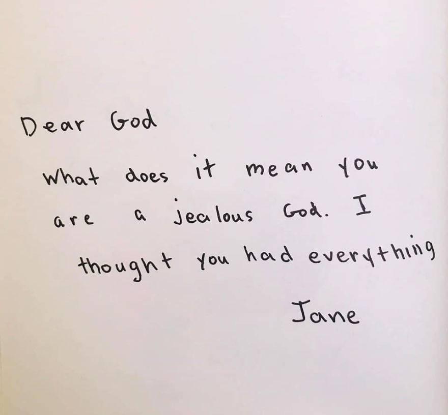 Klinci pisali Bogu: 'Bolje da su Kain i Abel imali vlastite sobe'