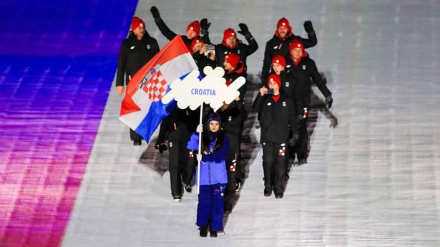 Sarajevo: Hrvatska ekipa na svečanom otvorenju Europskog olimpijskog festivala za mlade