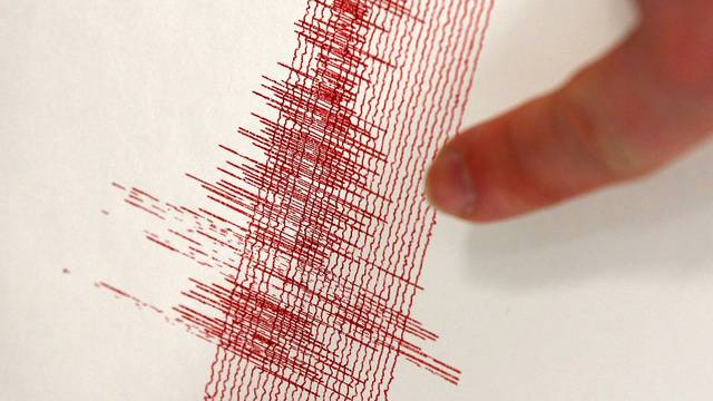 Earthquake in West Germany - Seismograph