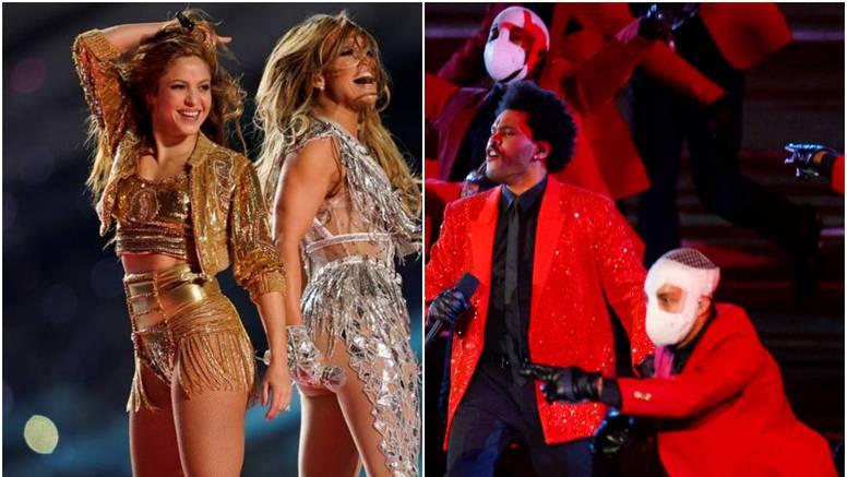 J.Lo i Shakira mrdale su guzom lani, a sad The Weeknd šokirao plesačima koji su bili u zavojima