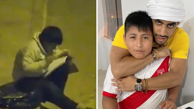 Dječak rasplakao sve: Pisao je zadaću na ulici jer doma nema struje pa ga nagradio milijunaš