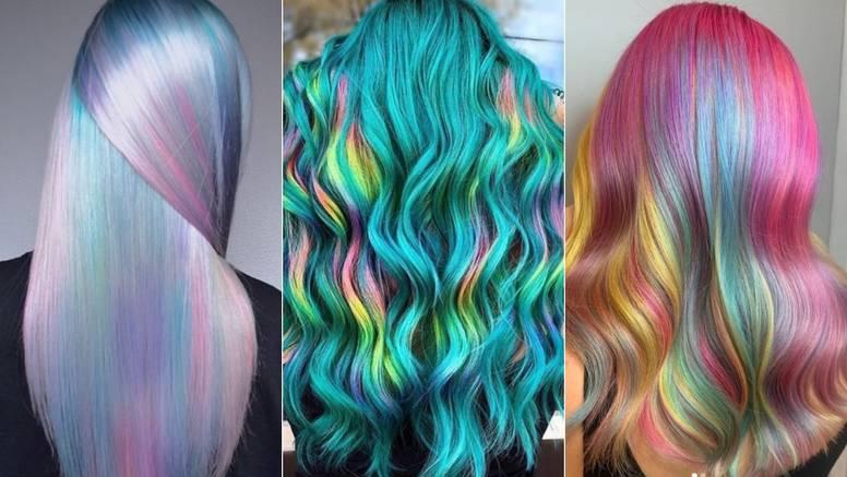 Samo za hrabre: Holografska kosa u milijun boja i tonova