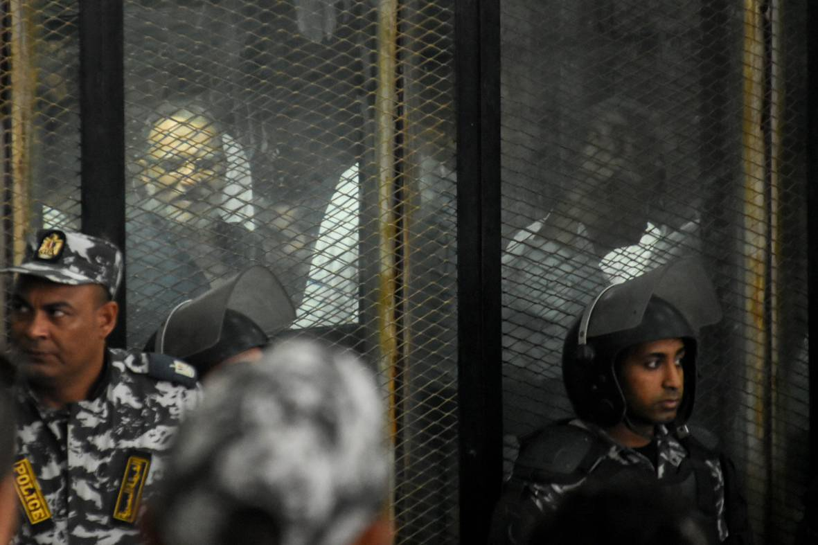 Egypt court sentences 75 to death over Muslim Brotherhood sit-in