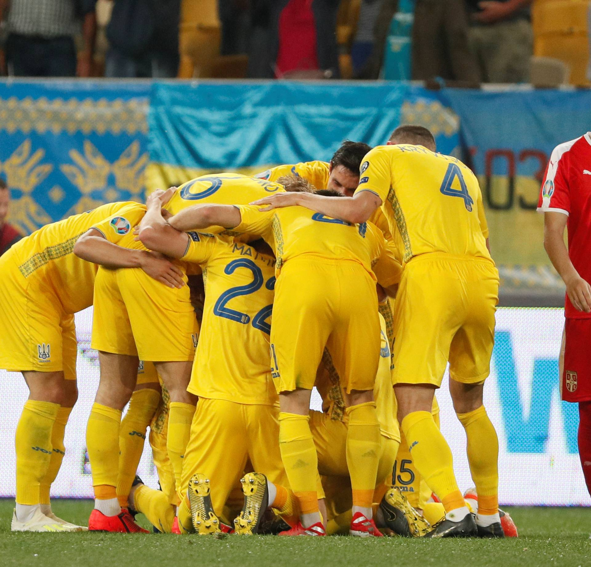 Euro 2020 Qualifier - Group B - Ukraine v Serbia