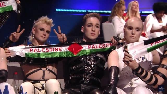 Skandal u finalu: Islanđani su mahali palestinskim zastavama