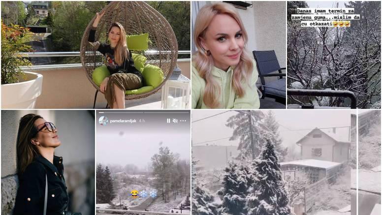 Poznata lica izbezumio snijeg: 'Bože sačuvaj, pa što je ovo?'