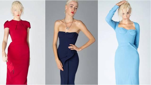 Roland Mouret predlaže uske haljine s korzet elementima