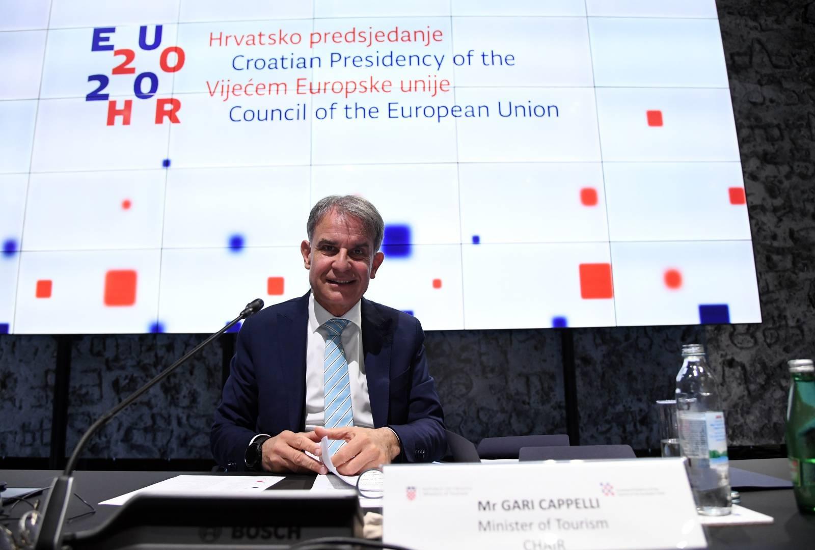 Zagreb: Ministar turizma Gari Cappelli održao videokonferenciju s ministrima EU