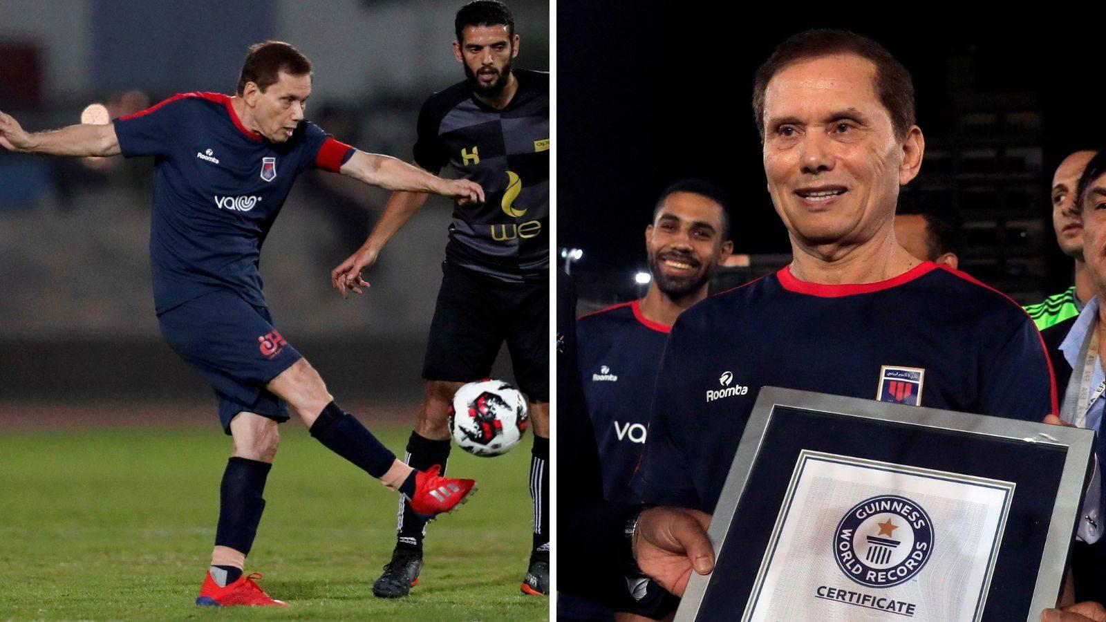 Ima šestero unučadi i postao je najstariji nogometaš na svijetu