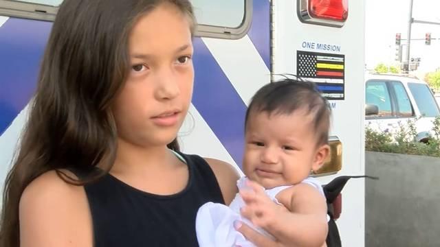 Djevojčica nije disala, ali sestra (11) joj je uspjela spasiti život