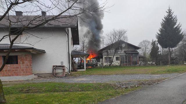Strava u Popovači: Udario ženu sjekirom i potom zapalio šupu