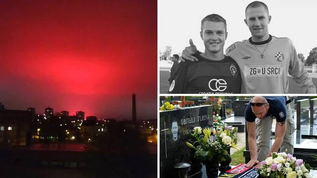 U čast i spomen Ivanu Turini gorjelo je crveno švedsko nebo