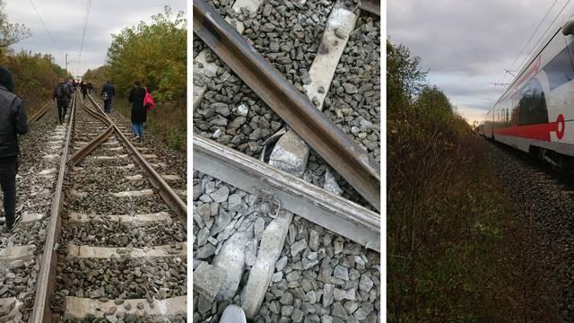 Nesreća blizu Vrbovca: Vlak sa 68 putnika iskočio iz tračnica