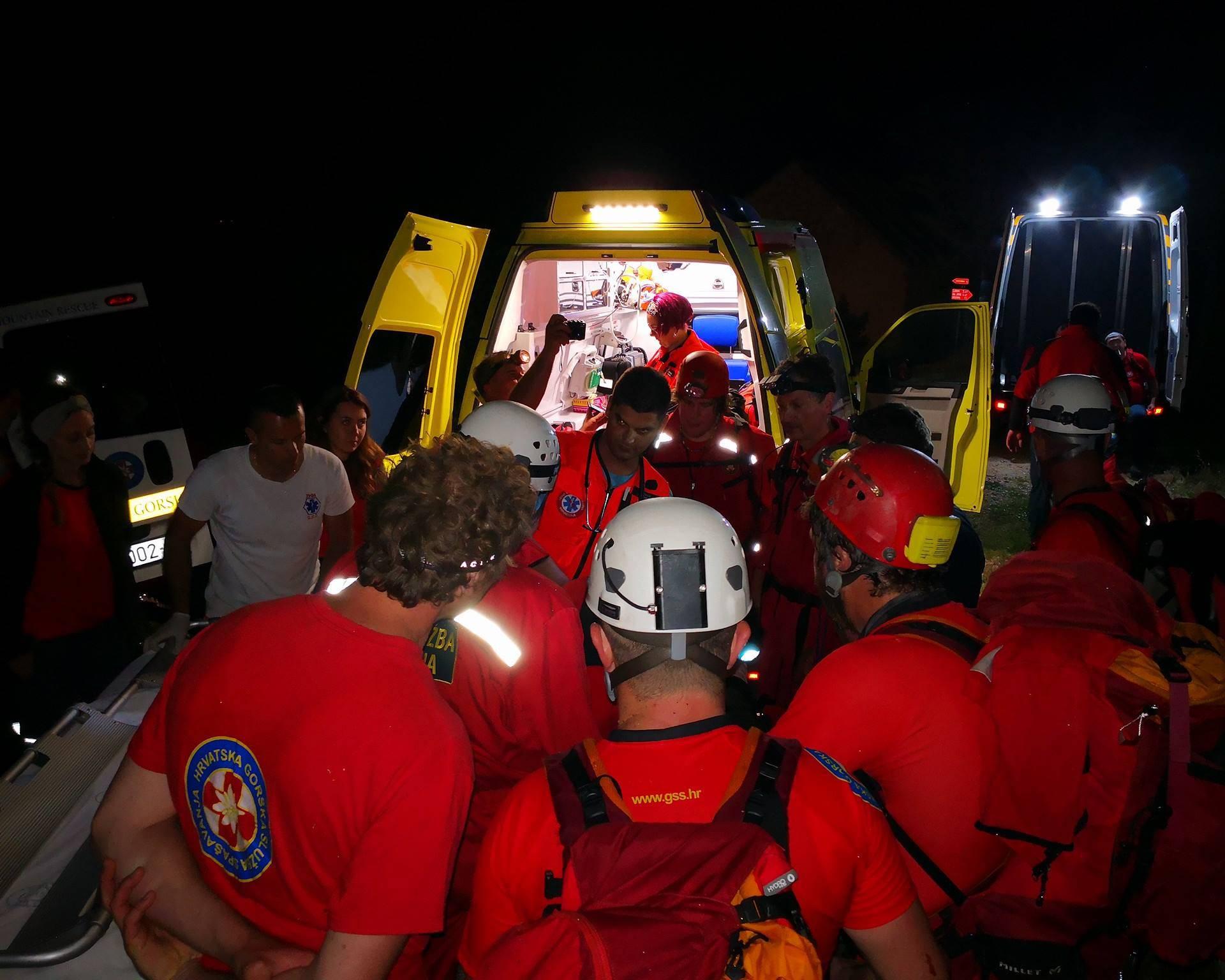 Našli izgubljeni par: Poljak pao, teško je ozlijedio glavu i nogu