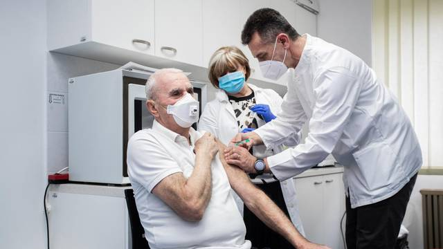 Split: Cijepljenje cjepivom AstraZenece
