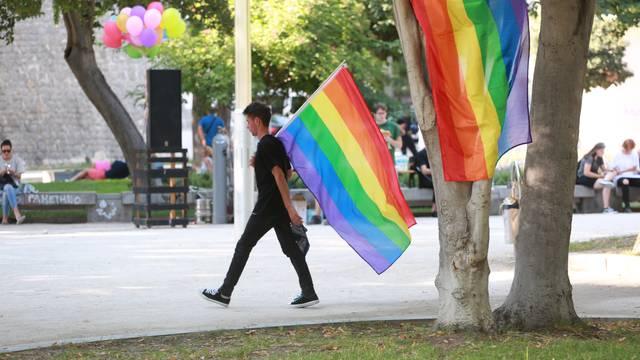 Sedmi Split Pride, Opara nije došao, u povorci puno turista