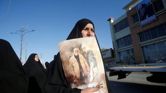Funeral procession for Abu Mahdi al-Muhandis in Basra