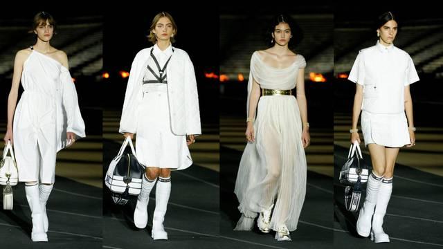 Od bijelih čarapa do plisirane suknje: Dior odaje počast sportu