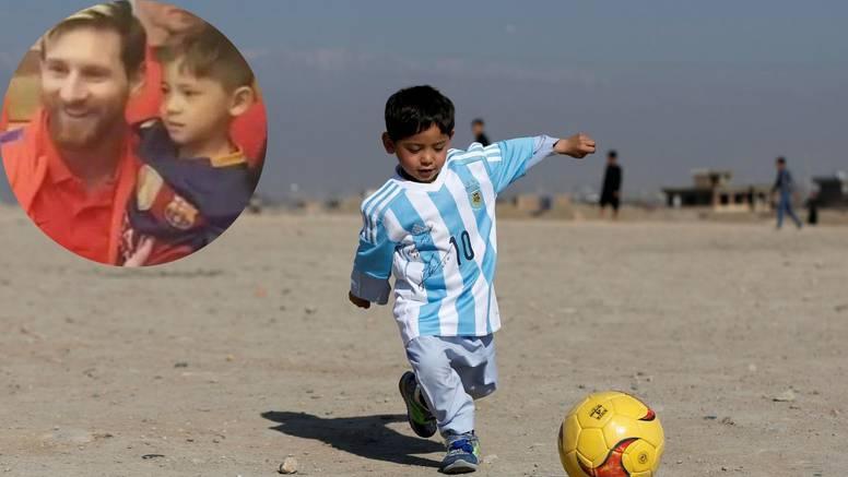 Dječak s Messijevim dresom od plastične vrećice doživio horor: Bježao od talibana, prijetili mu