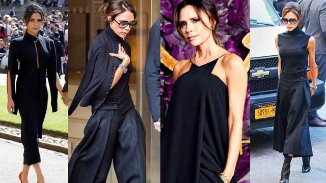 Dobar stil: Elegancija u crnom po receptu Victorije Beckham