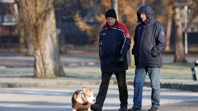 Karlovac se jutros probudio na minus šest stupnjeva
