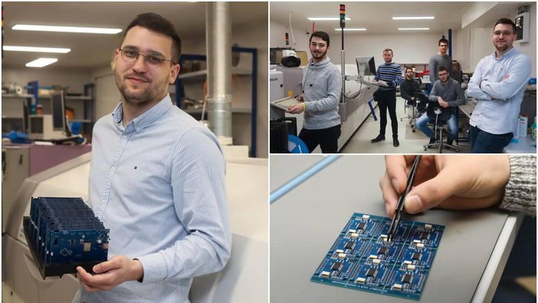 Slavonac David (23) maher je za elektroničke pločice, a već je zaradio svoj prvi milijun
