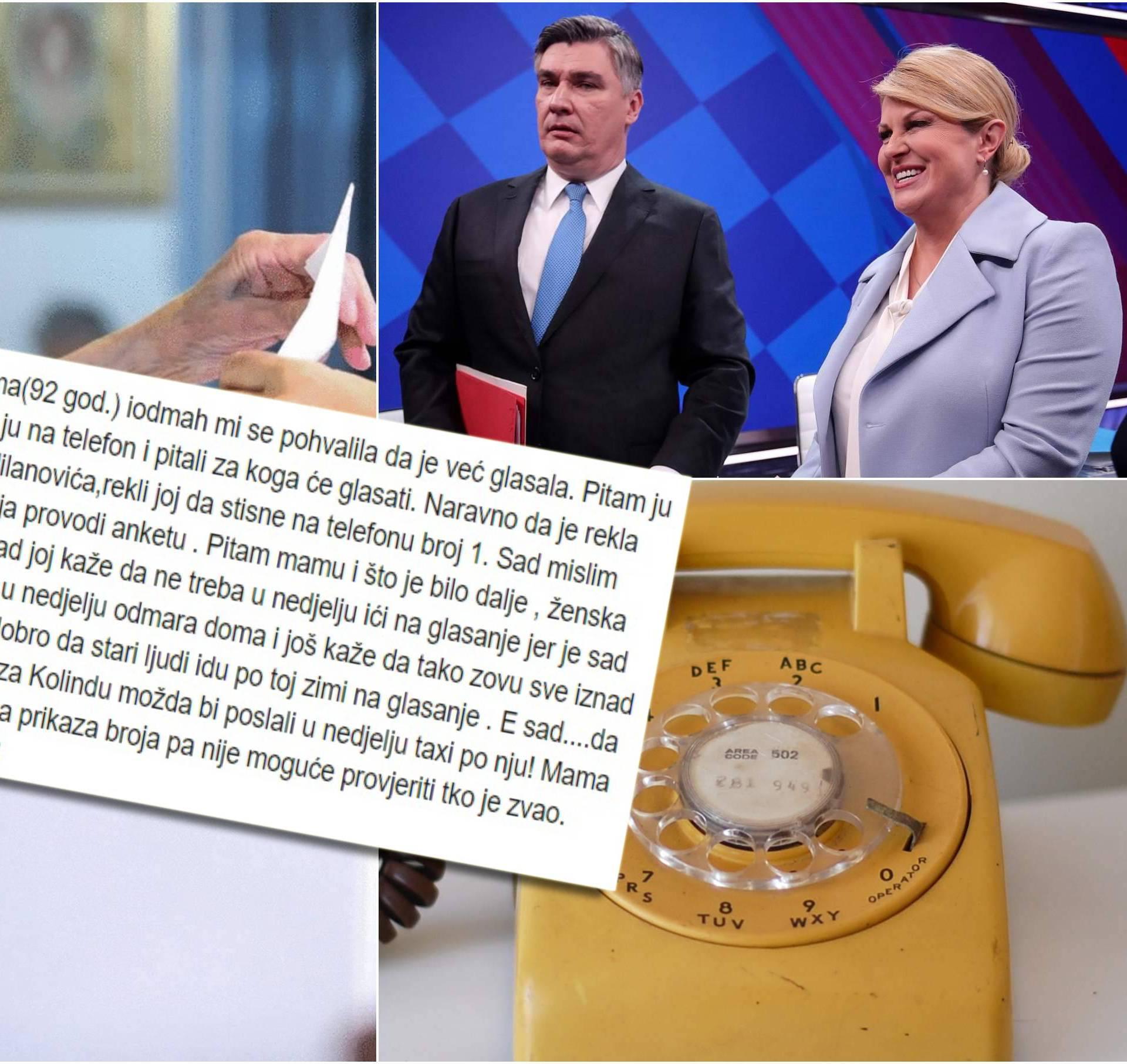 Starici rekli da je glasala preko telefona? GONG: Ne nasjedajte