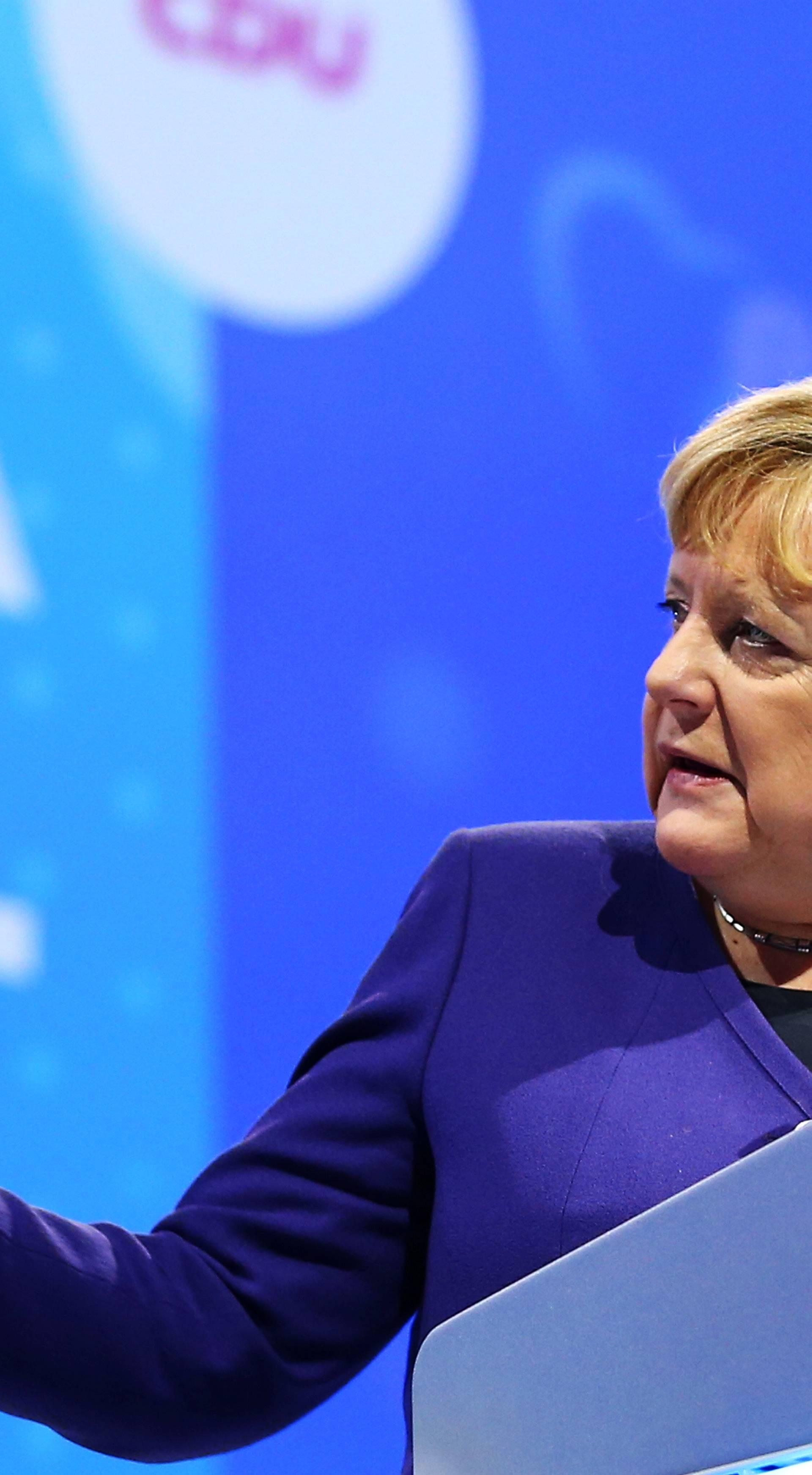 Merkel: Europa se u ovom trenutku nije sposobna braniti