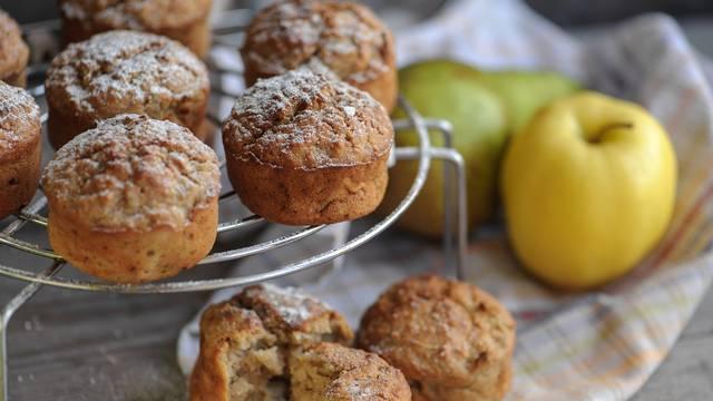 Muffini od jabuka i krušaka su super ideja za brzi i zdrav obrok