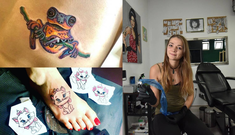Arijana: Medicinsku iglu sam zamijenila onom za tetoviranje