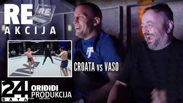 VIDEO Hambi i Plazibat gledaju meč Vase i 'Croate' u Šibeniku:  Znao sam da će se ovo dogoditi