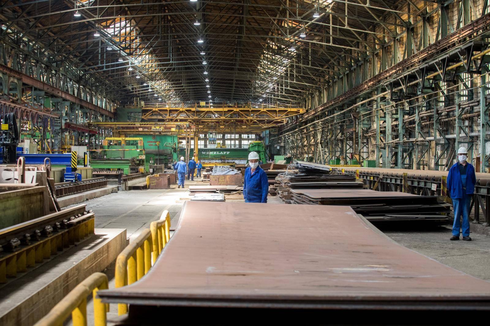 Radnici brodogradilišta 3. Maj tijekom pandemije koronavirusa
