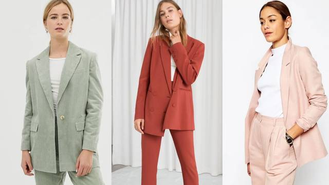 Komotna klasika: Široka odijela u bojama od lavande do zelene