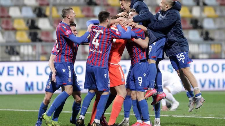 Lovre je obranio penal u 95., Hajduk opet osvojio Rujevicu!