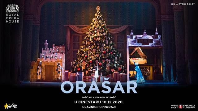 U CineStar 10.12. stiže kraljevski balet – Orašar - Božić bez njega ne bi bio Božić
