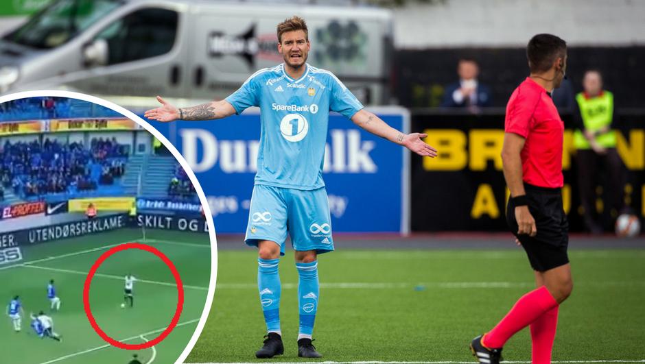 Pa on se igra... Lord Bendtner  je 'zatukao' genijalnu golčinu!