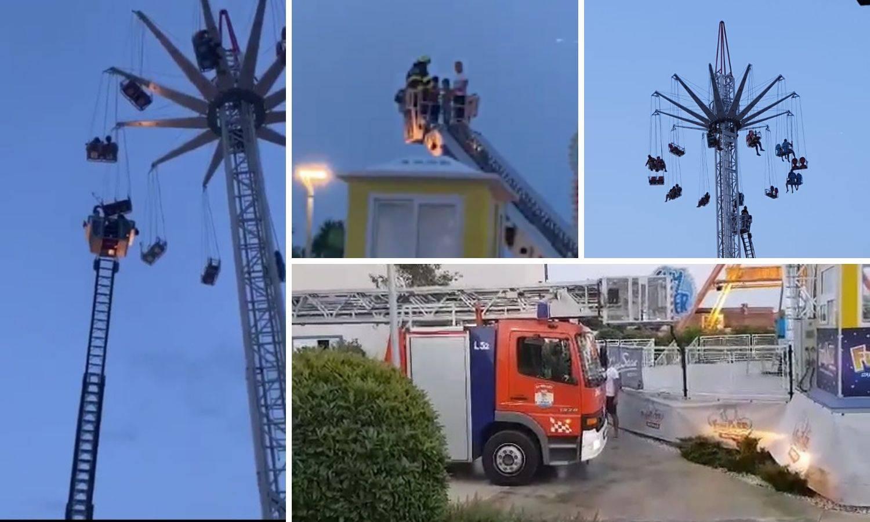 Sat vremena čekali vatrogasce da ih spuste: 'Nije bilo opasno'